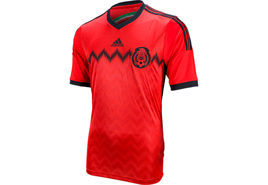 526570b0771 Mexico s Red Adidas Away Jersey Has Arrived - The Center Circle - A ...