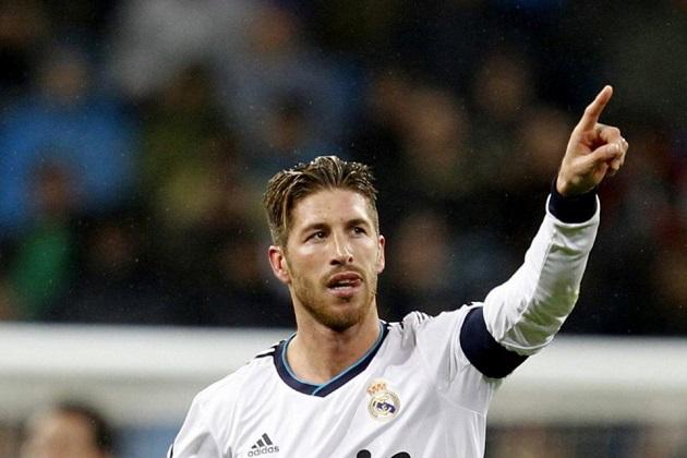 Real's Sergio Ramos