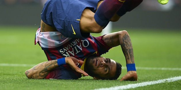 Dani Alves for Barca