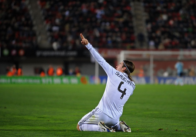 Sergio Ramos of Madrid