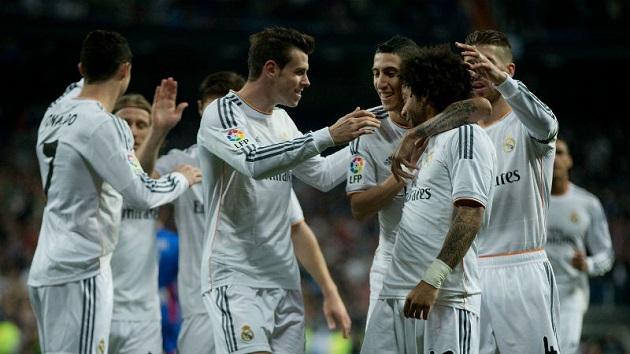 Real Madrid leading La Liga