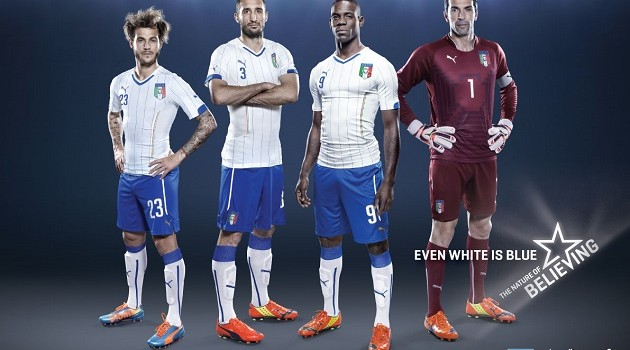 Puma Drops Both Home and Away World Cup Kits for Italy