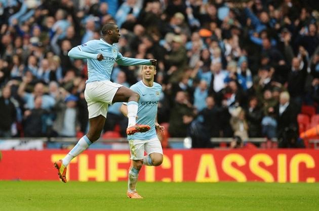Toure scores for Man City