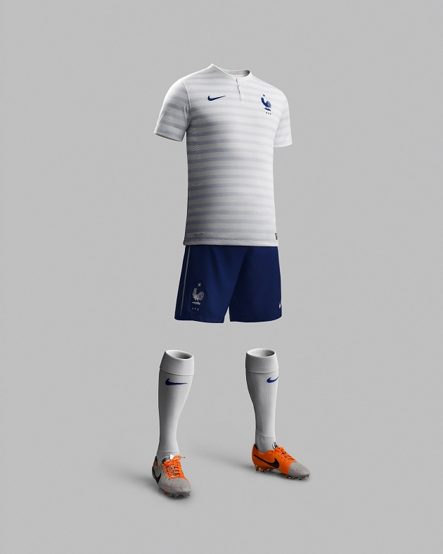 Nike France away kit full