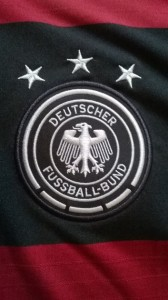Germany away jersey crest
