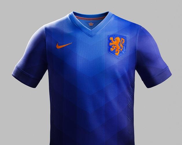 Holland away jersey
