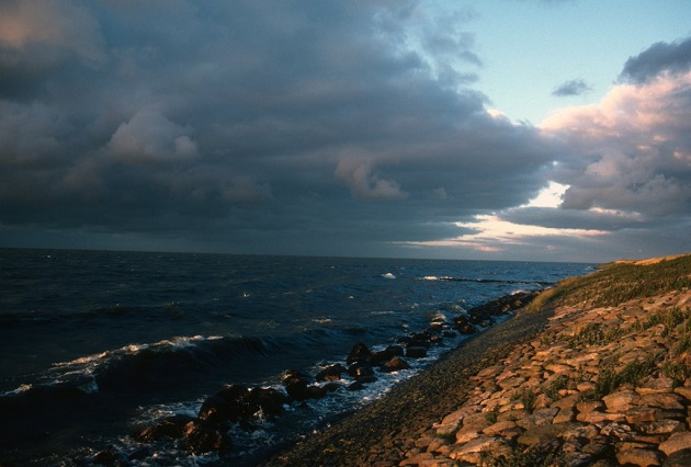 North Sea Dutch coast