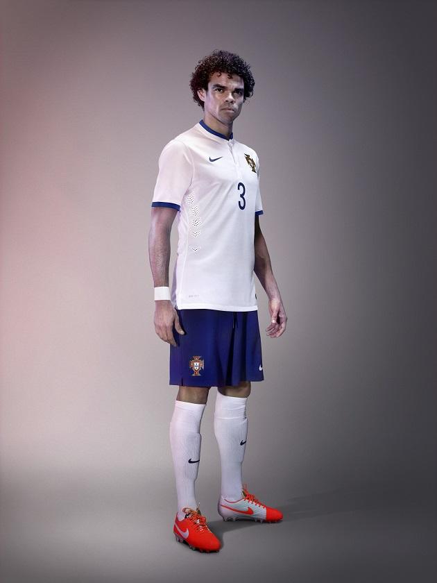 Pepe Portugal away kit