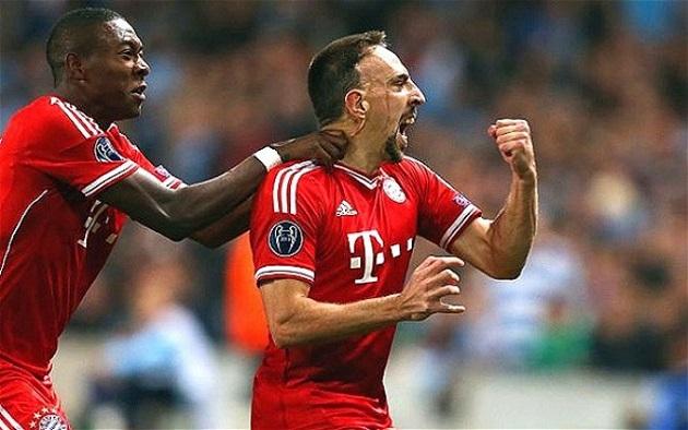 Bayern vs. Man City Champs League