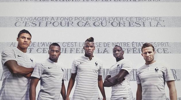 France's World Cup Away Kit Arrives
