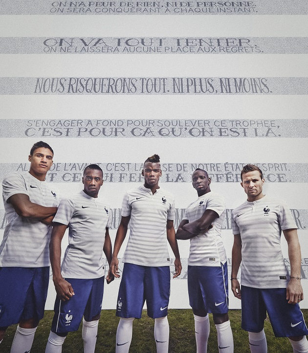 promo code 086b3 94b46 France's World Cup Away Kit Arrives - The Center Circle - A ...