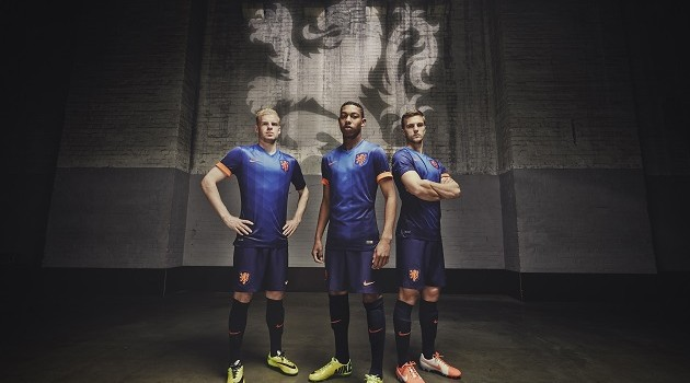 Netherlands' Coasts Supply Nike Away Kit Inspiration