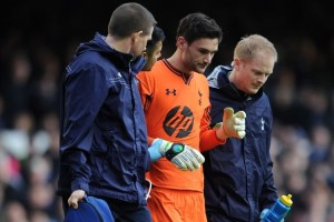 Tottenham's keeper Lloris