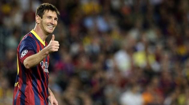 Favorite Transfer Rumor of 2014: Messi to Man City