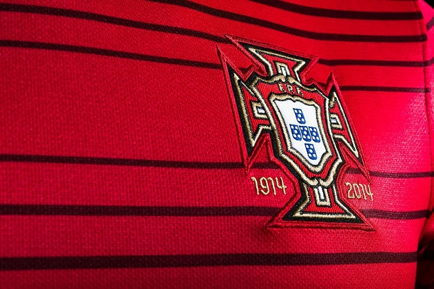 Portugal's home jersey crest