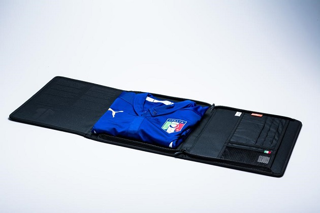 Italy authentic home jersey case