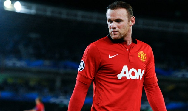 Rooney of Man U