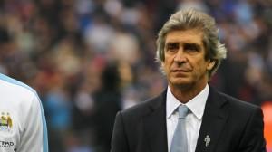 Man City manager Pelligrini