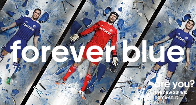 Strange Video Accompanies 2014-15 Adidas Chelsea Home Jersey