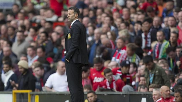 Interim manager Giggs