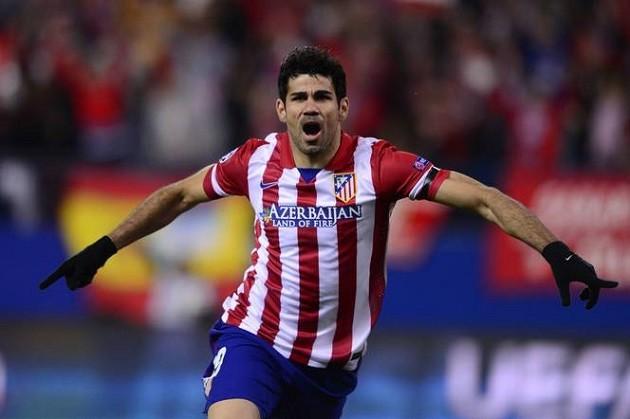 Atletico's Costa