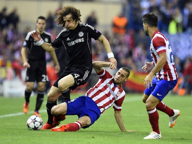 David Luiz vs. Atletico