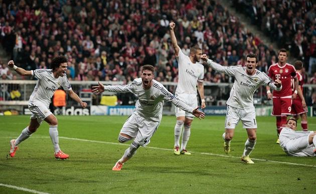 Real loses to Bayern