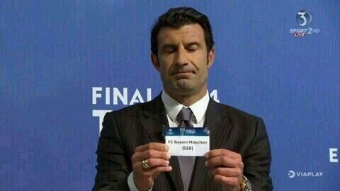 Bayern CL Draw