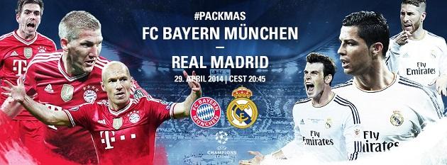Bayern v. Real: The Rückspiel