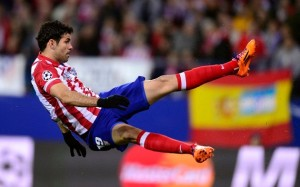 Costa for Atletico Madrid