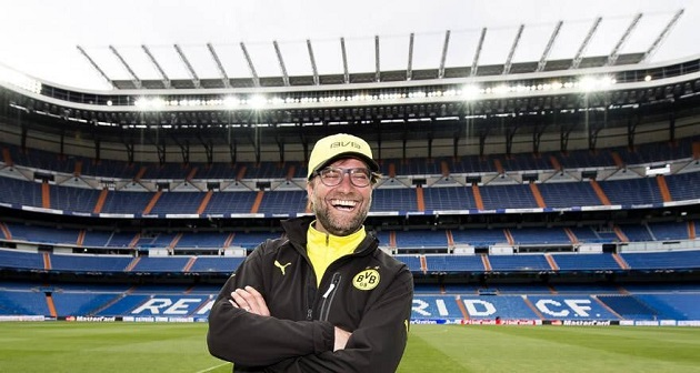 Klopp at Bernabeu