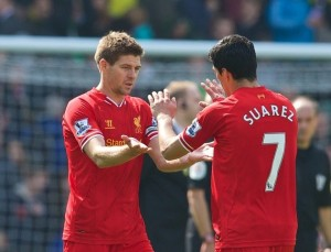 Suarez and Gerrard