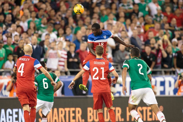 Eddie Johnson vs. Mexico