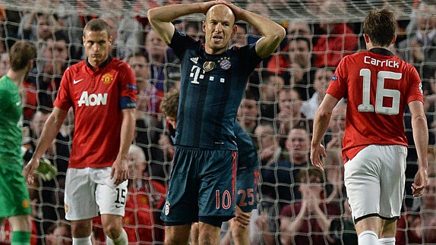 Robben vs. Man United
