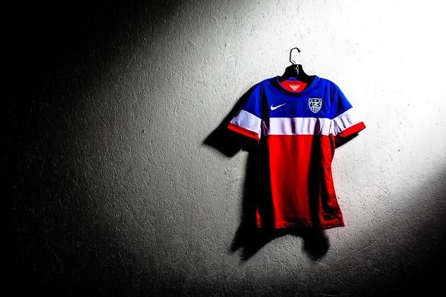 USA's away jersey