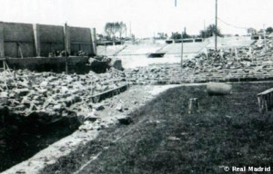 Chamartin Stadium after war