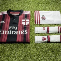 AC Milan Continues Rebuild with Home and Third Kits for 2014-15