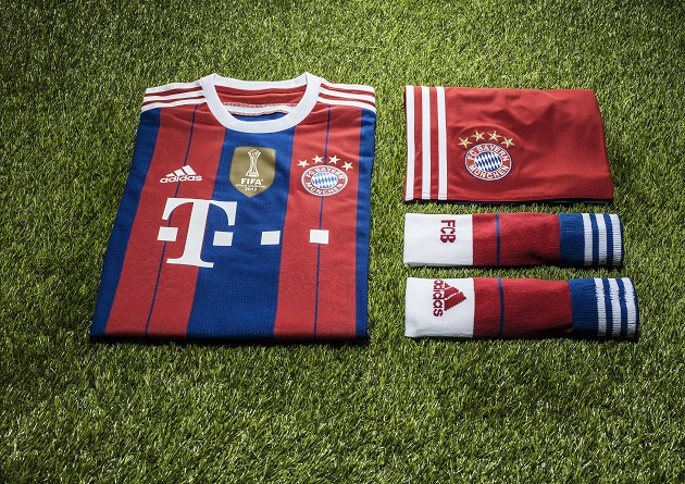 Bayern home kit