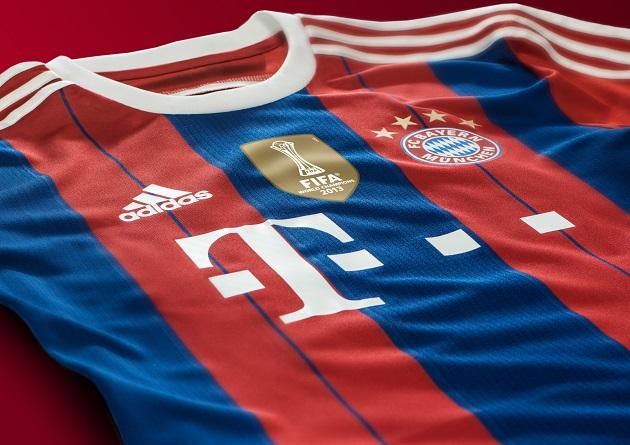 Bayern home jersey