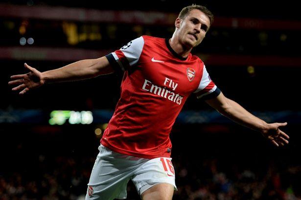 Ramsey of Arsenal