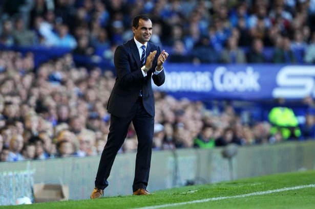Everton's Roberton Martinez