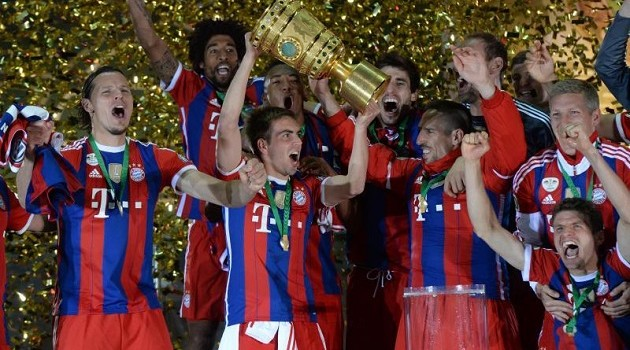Bayern Down Dortmund to Deliver Double