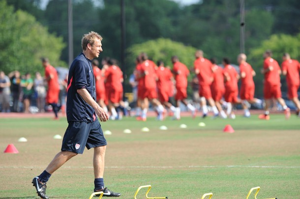 Klinsmann USA training