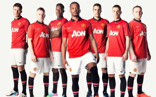 Man United 2014 lineup