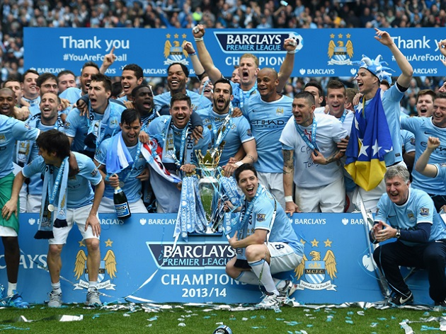 Man City EPL champs