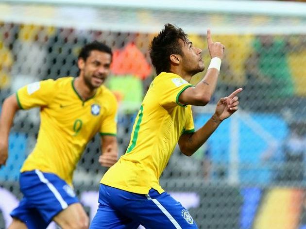 Neymar vs. Croatia