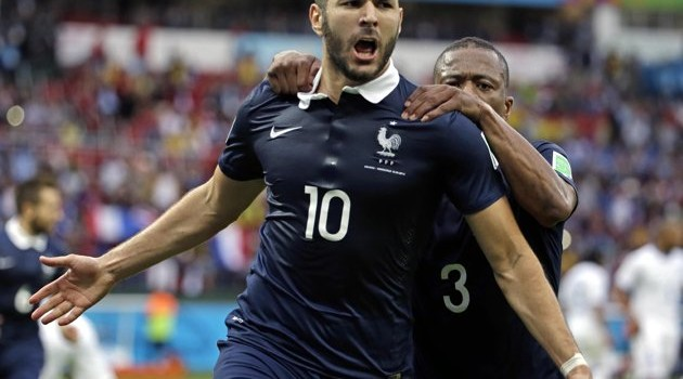 World Cup Day FOUR: France Firing