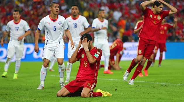 World Cup Day SEVEN: Champions Crumble