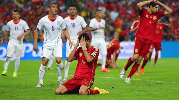 Spain vs. Chile