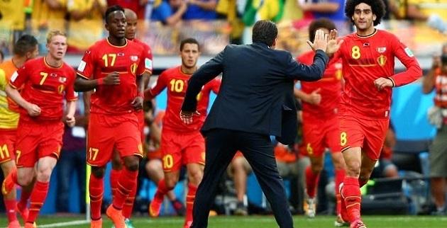 Belgium beats Algeria